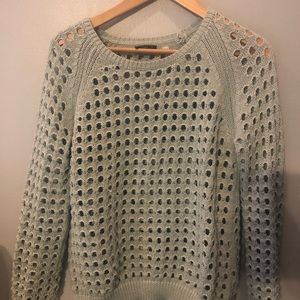 Anthropologie Dex light blue sweater xs
